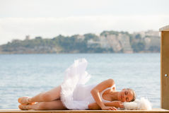 Relaxing vacation or sleep concept Stock Images