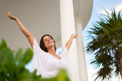 Relaxing vacation and summer leisure Royalty Free Stock Images