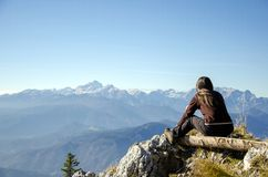 Relaxing view Stock Photography