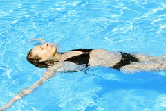 Relaxing in water Stock Photography