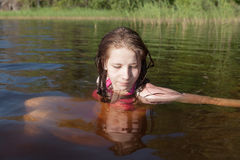 Relaxing in water Stock Images