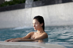 Relaxing in the water Stock Photography