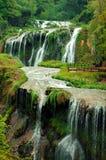 Relaxing waterfalls Stock Photos