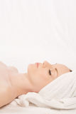 Relaxing white Royalty Free Stock Images