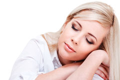Relaxing woman Stock Photos