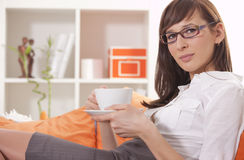 Relaxing after work Royalty Free Stock Image