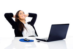 Relaxing at work Royalty Free Stock Images