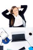 Relaxing at work Stock Photos