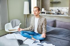 Relaxing between work Royalty Free Stock Images