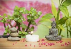 Relaxing zen garden Stock Image