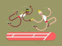 Relay athletics design vector illustration