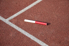 Relay Baton Royalty Free Stock Photo