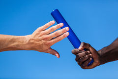 Relay Baton Stock Photo