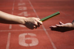 Relay Baton Stock Image