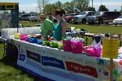Relay for life fundraiser Stock Photos