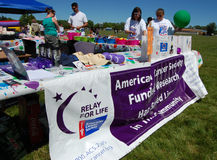 Relay for life fundraiser Royalty Free Stock Photography