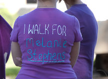 Relay For Life I walk For:  Stock Images