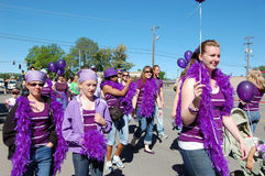 Relay Pride Walkers Stock Photo