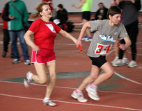 On relay race Stock Photo
