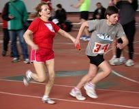 On relay race Stock Photo