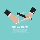 Relay Race. Stock Photo