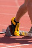 Relay Runner Royalty Free Stock Images