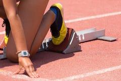 Relay Runner Stock Images