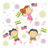 Relazione dell'India-America Immagine Stock