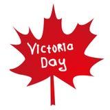 Relblad die een Canadese Overwinningsdag betekenen Stock Afbeelding