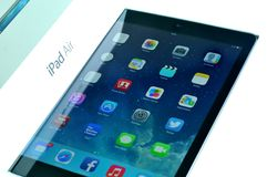 Release of the new iPad Air Royalty Free Stock Photos