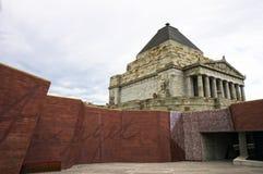 Relembrança Melbourne do santuário Fotos de Stock