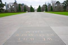 Relembrança Melbourne do santuário Foto de Stock Royalty Free