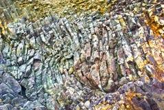 Relevación del primer de las rocas imagen de archivo libre de regalías