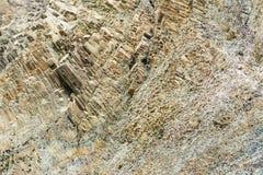 Relevación del primer de las rocas Foto de archivo libre de regalías