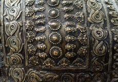 Relevo antigo do metal Foto de Stock