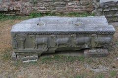 Relevo bizantino do cordeiro Imagem de Stock