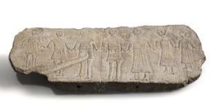 Relevo de dançarinos do bastetani Parte ibérica antiga da chave da cultura Imagens de Stock Royalty Free