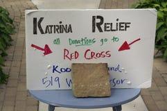 Relevo de Katrina Imagem de Stock Royalty Free