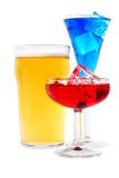 Relevo de las bebidas fotografía de archivo libre de regalías