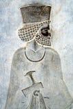 Relevo de Persepolis Bas Foto de Stock