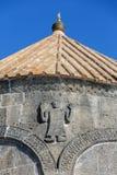 Relevo na mesquita de Merkez Kumbet em Kars, Turquia Fotos de Stock Royalty Free