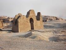 Relevos nas paredes Egypt Ruínas de Egipto fotografia de stock royalty free