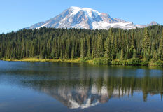Relflection Lake Stock Images