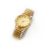 Relógio de ouro Fotos de Stock