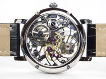 Relógio do art deco - movimento de esqueleto Fotografia de Stock
