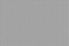 In reliëf gemaakt binair patroon op grijze achtergrond Royalty-vrije Stock Afbeelding