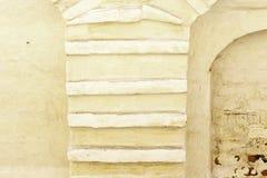In reliëf gemaakt pleister Stock Foto