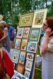 In reliëf gemaakte beelden met een beeld van bloemen Royalty-vrije Stock Afbeelding