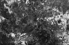 In reliëf gemaakte zwart-witte Abstracte achtergrond Stock Afbeelding