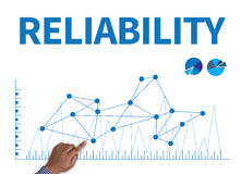 RELIABILITY CONCECT Stock Images